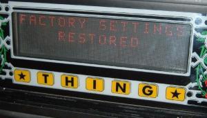 factory restore battery deplete