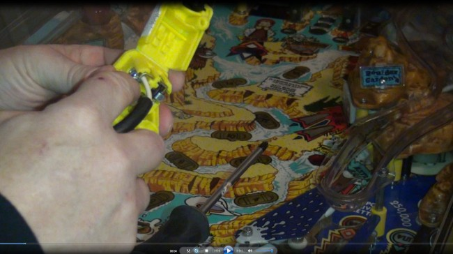 1992 Bally wpc Addams Family pinball repair, reset with flippers fix - YouTube