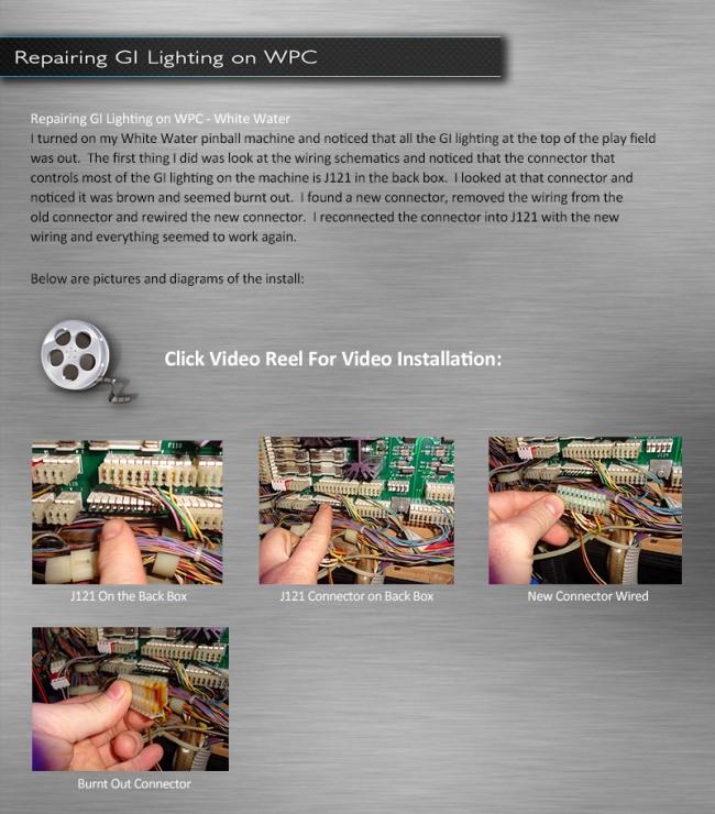 gi lighting repair on white water