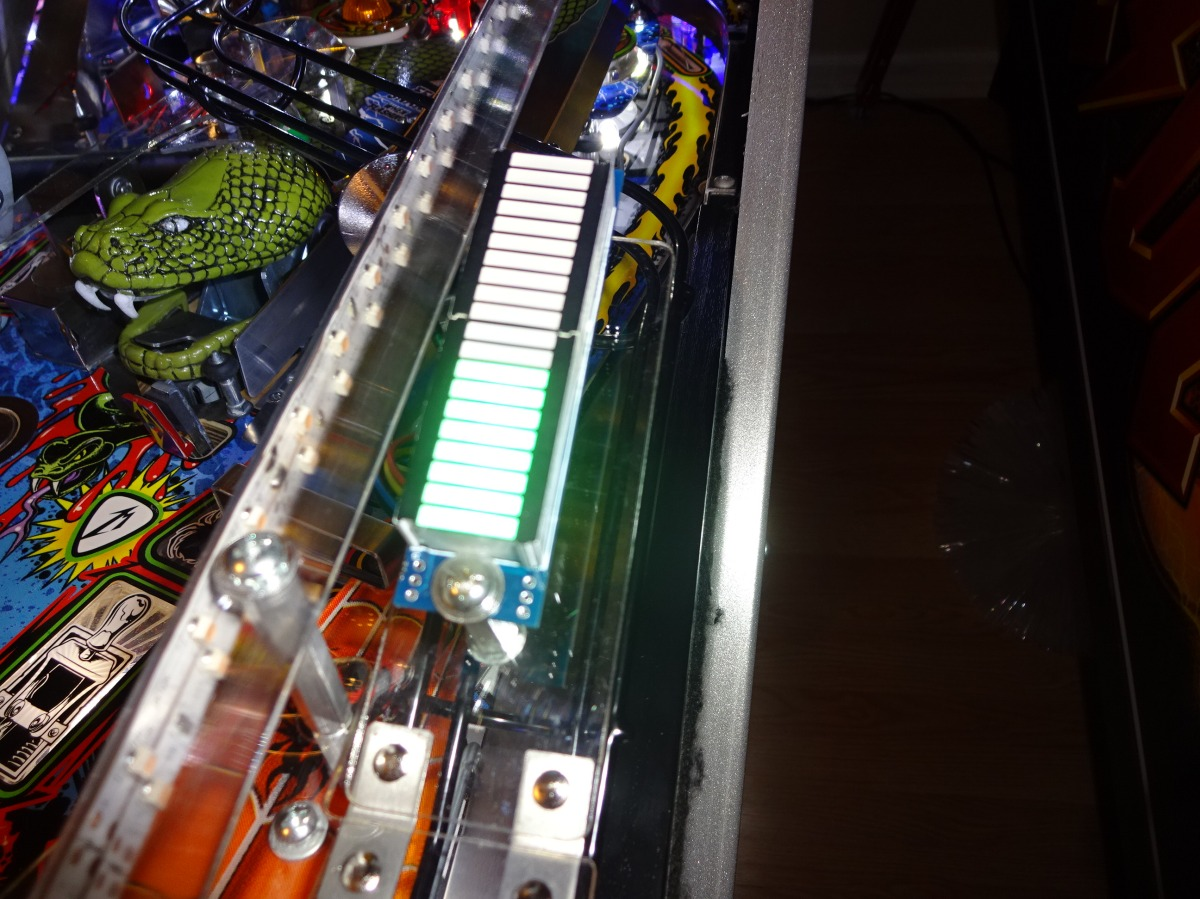 Mod Install Vu Meter For Metallica Pinball Epicenter All 3 Things