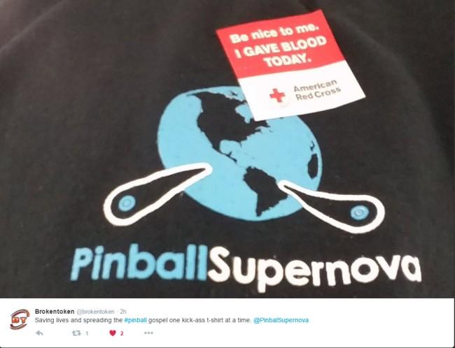 Broken Token and Pinball Supernova