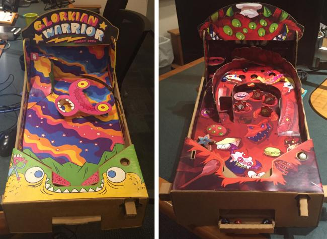 Pleasant News Pinball Wizards Creators Of The Pinbox 3000 Turn Interior Design Ideas Gentotryabchikinfo