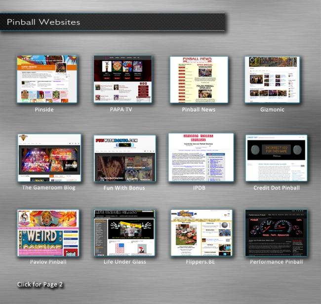 pinball-websites