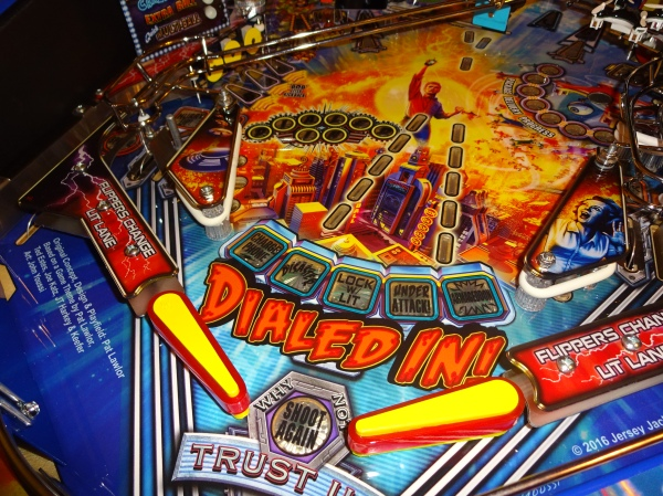 SOLD : JERSEY JACK'S DIALED IN LE PINBALL MACHINE