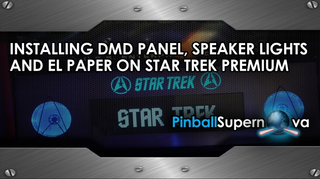 Star Trek Speaker Lights and EL Paper Title