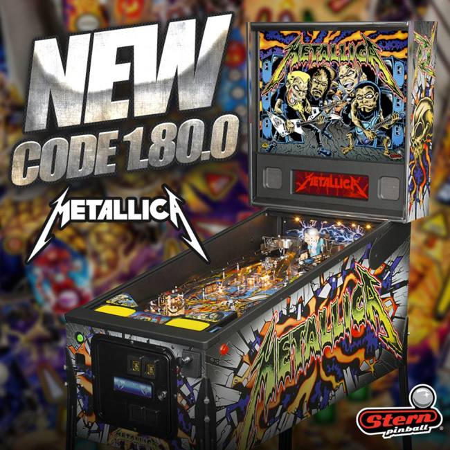 CODE UPDATE : CODE UPDATE : STERN'S METALLICA : VERSION V