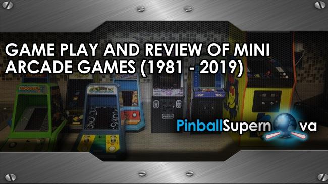 Mini Arcade Title Page